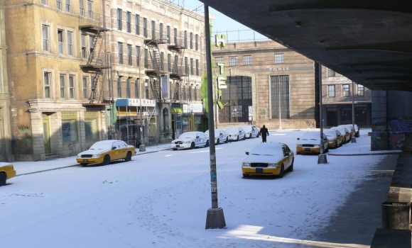 Korda Studios New York backlot set 7